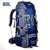 MYMM 80L Sacs de Trekking,Sac à Dos de,idéal pour Le Sport de Plein air,Randonnée,Trekking,Camping Travel,Mountain...