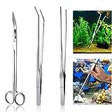 Meiso Aquarium Kit Outil Accessoires INOX Aquarium réservoir Eau Plante...