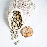 Jefferson Street Ceramics - Made in USA - Ceramic Pie Weights - Natural Clay Beads for Baking Blind Crust - 2.4 lbs with Mesh Bag