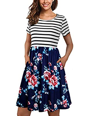 Bust Size: (S 2-4)33.4 (M 4-6)35.4 (L 6-8)37.8 (XL 10-14)40.9 (XXL 16-18)44.9 Inches,small medium size is good for petite lady or girls,plus size xl or xxl suitable for plus size wear,more detail pls check the description Boutique Design: Short Sleev...