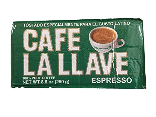Cafe La Llave Ground Espresso Coffee (8.8oz)