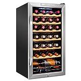 Ivation 28 Bottle Compressor Wine...