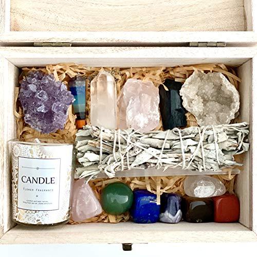 Healing Crystals Kit - Chakra Stones Crystal Starter Set  ...