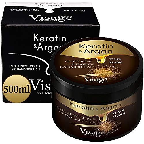 VISAGE Mascarilla capilar con aceite de argán y queratina |