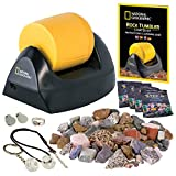 NATIONAL GEOGRAPHIC Starter Rock Tumbler Kit - Rock Polisher for Kids and Adults, Complete Rock...
