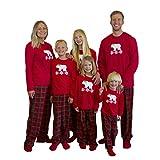 Mad Dog Concepts Matching Polar Bear Set Family Christmas Holiday Pajamas + Slipper Socks - Women's Size X-Large