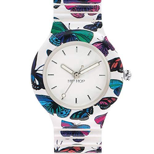 Hip Hop Watches - Orologio da Donna Hip Hop Butterfly HWU0675 - Collezione Animals Addicted -...