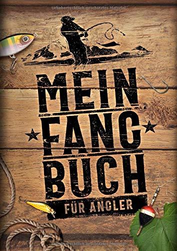 Mein Fangbuch für Angler: Geschenk für Angler