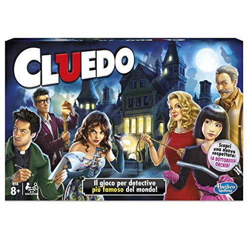 Hasbro Gaming - Cluedo, Gioco in Scatola