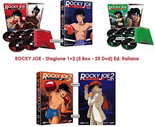 ROCKY JOE - Stagione 1+2 (5 Box - 25 Dvd) (Ed. Italiana)