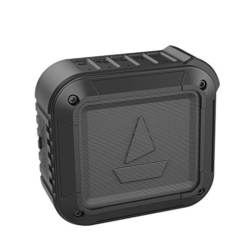 boAt Stone 201A with Alexa Built-in, Loud Sound, Compact Body, IPX6 Water and Shock Resistant Portable Smart Speaker (Black)