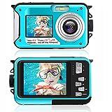 Appareil Photo Etanche 2.7K Appareil Photo Numérique 48 MP Appareil Photo Etanche Double écran LCD...
