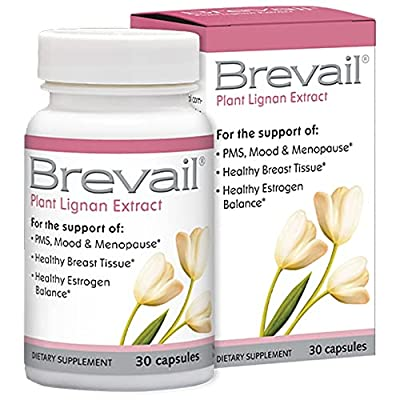 IDEAL WOMEN'S HEALTH SUPPLEMENT - Brevail is for all women interested in maintaining optimal breast health and/or, nutritional support for common PMS and menopausal discomforts - all naturally, with just one capsule per day. NOURISH YOUR BODY - Resea...