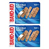 Band-Aid Brand Flexible Fabric Adhesive Bandages for Comfortable Flexible Protection & Wound Care of Minor...