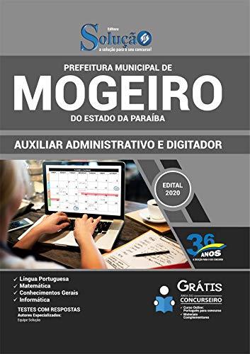 Folleto Ayuntamiento Mogeiro PB - Asistente administrativo