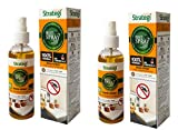 Herbal Strategi – Just Spray Herbal Mosquito Spray   Room Spray   Completely Herbal   Mosquito Repellent Spray   Made with Citronella, Lemongrass, Cedarwood & Neem  Eco-friendly & Biodegradable   Irritant-Free, Chemical-Free  Baby-Safe, Skin-Safe, Plant-Safe   100mL (Pack Of 2)