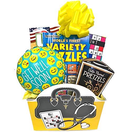 Boredom Buster Get Well Gift Basket for Men, for Women, for...