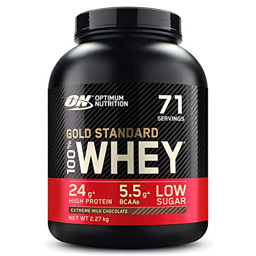 Optimum Nutrition Gold Standard 100% Whey Proteína en Polvo,...