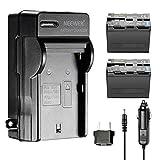 Neewer 6600mAh Li-ION Batterie Rechange pour Sony NP-F970 et Chargeur Secteur et...