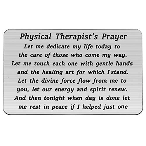 HOLLP Physical Therapist Gift Physical Therapist's Prayer...