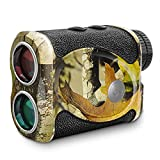 Wosports Hunting Rangefinder, 700 Yards Laser Speed Measure Range Finder, 6X Magnification for...