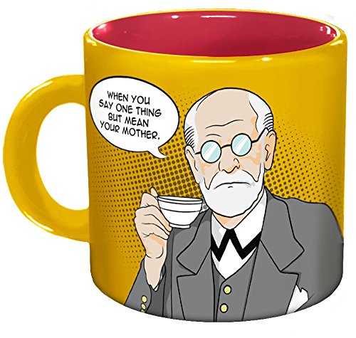 Freudian Sips Coffee Mug - Undo Years Of Repression While...