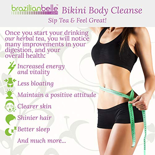 Bikini Body Colon Cleanse Tea- Best Nighttime Detox Tea on Amazon - Improves Digestion, Manages Weight, Reduce Bloating and Constipation 2