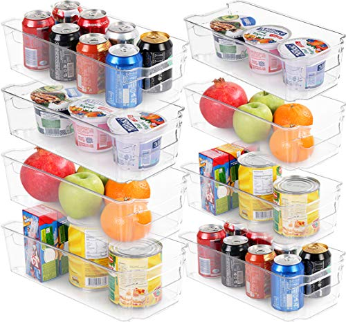 Utopia Home Set of 8 Pantry Organizers-Includes 8 Organizers (4...