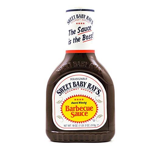 Sweet Baby Ray's Salsa para barbacoa, original, 1 unidad (1 botella de 510 g)