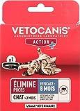 VETOCANIS Collier Anti-puces, au Dimpylate pour Chat, 8 MOIS de...