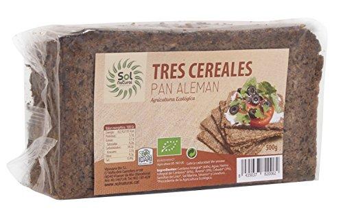 Sol Natural Pan Aleman 3 Cereales 500 Gramos