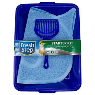 Fresh-Step-Starter-Kit-Cat-Litter-Cleanup-Kit-Cat-Litter-Box-Cat-Litter-Scoop-Cat-Litter-Trapper-Keeper-Mat-Cat-Litter-Accessories-Everything-You-Need-for-A-Clean-Home