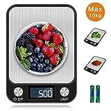 otumixx Balance Cuisine Electronique Balance de Precision, 10kg/1g, Balance...