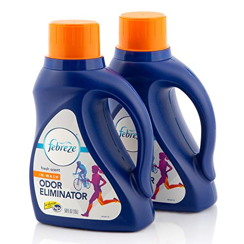 Febreze Laundry Odor Eliminator, In Wash Clothes...