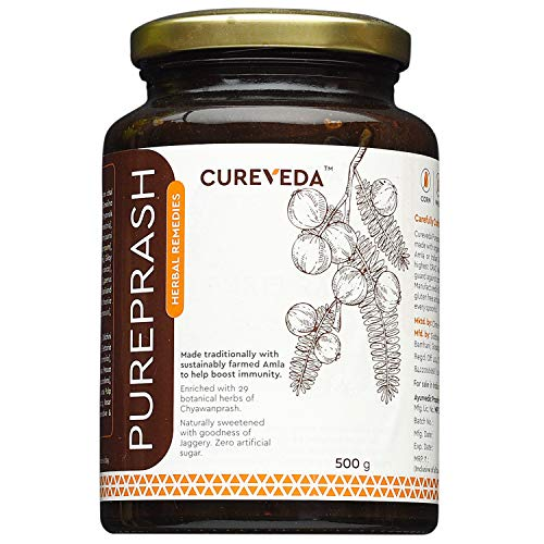 Cureveda Herbal Pureprash Immunity Booster for all age groups- Jaggery based, sugar free...