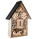 Maison à insectes en Bois Naturel et Bambou - Anti nuisibles & Pesticide...