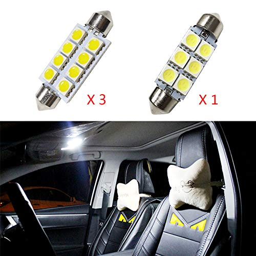 per Compass Grand Cherokee Patriot Super Luminoso Sorgente luci Interne a LED Lampada per Auto...