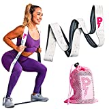 Pazzzi Long Fabric Exercise Band, Perfect Resistance Bands for Home Gym, Non-Slip Strength and Stretch Band for Workout, Total Body Sports Fitness Loop Band, Sculpt Butt, Legs, Arms