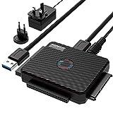 USB IDE ou SATA Adaptateur, FIDECO USB 3.0 Adaptateur de Disque Dur pour...
