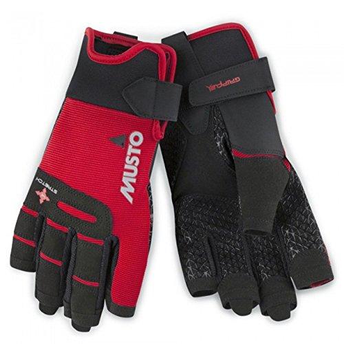 Musto Performance Short Finger Sailing Gloves - 2018 - True Red L