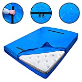 Dofilachy Heavy Duty Mattress Bags for Moving and Storage - Reusable Mattress Protection Cover Bag - King, Queen, Full, Twin Size Mattress Protector with Strong Zipper and Handles (Twin)
