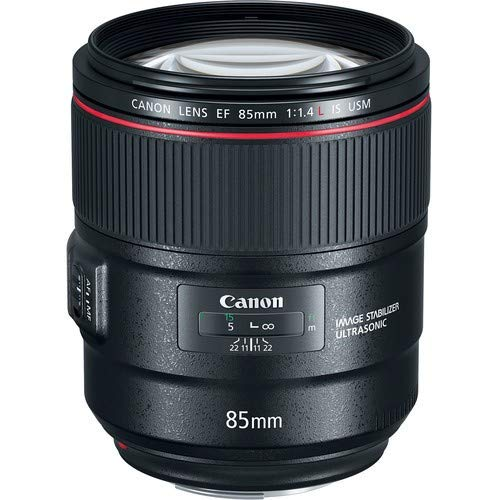 Canon 単焦点レンズ EF85mm F1.4L IS USM フルサイズ対応 EF8514LIS