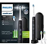 Philips Sonicare ProtectiveClean 5300 Rechargeable Electric Toothbrush, HX6423/34 Black