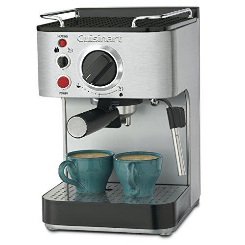 Cuisinart EM-100NP1 1.66 Quart Stainless Steel Espresso Maker