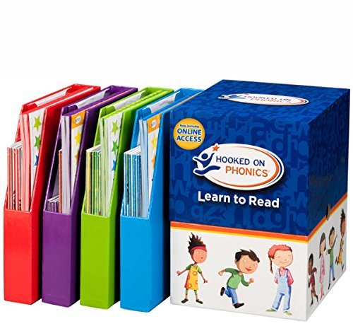 Hooked on Phonics Complete Learn to Read Kit (Pre-K through...