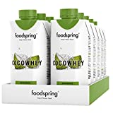 foodspring CocoWhey en pack de 12, Noix de Coco, 12x330ml, La boisson...