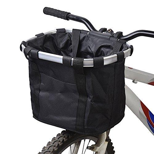 Docooler Cesta de Lona Frontal Desmontable de Bicicleta Marco de la...