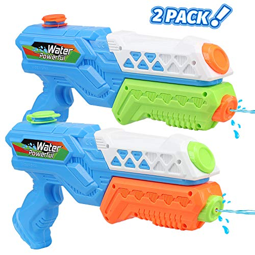 Toy Life Water Guns for Kids or Adults - 2 Pack Super Blaster Soaker Water Gun - Water Shooter Toy - Kids Outdoor Toys and Games for Boys, Girls - Pool Water Guns Summer Toy for Toddlers, Kids, Adults
