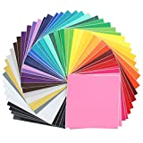 Oracal Assorted 631 and 651 Vinyl - 48 Pack of Top Colors - 12' x 12'...