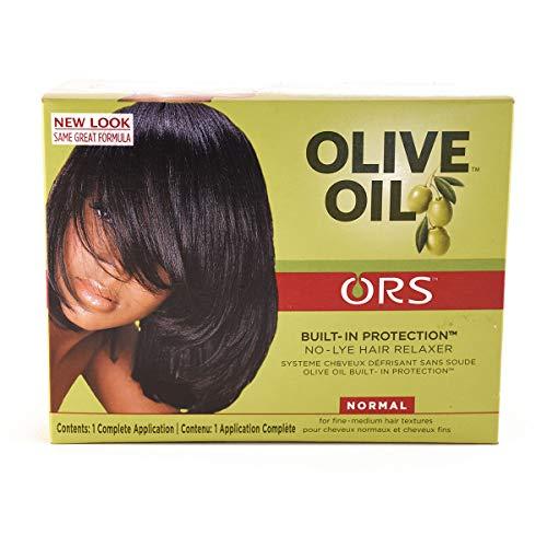 Relaxer / Crema alisadora Organic Root Stimulator Olive Oil